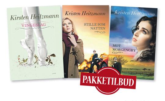 Pakketilbud 3 x Kristen Heitzmann
